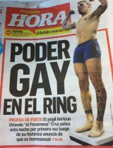 When local professional boxer, Orlando Cruz, came out of the closet as gay in October 2012, it directly promoted healthy LGBTT communities through sports and coming out of the closet. Local newspaper, Primera Hora, posted on its front cover what became international news.